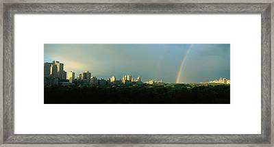 Nyc, New York City New York State, Usa Framed Print by Panoramic Images
