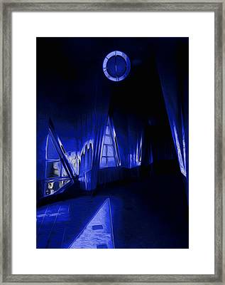 6 O'clock  Framed Print by Jack Zulli