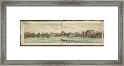 Panorama Of The City Of Dacca Framed Print by British Library