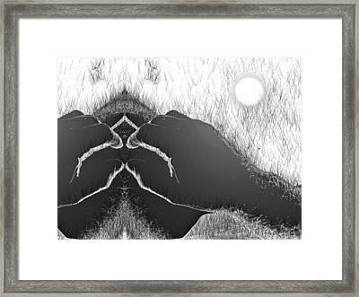 Paradise Is Here Framed Print