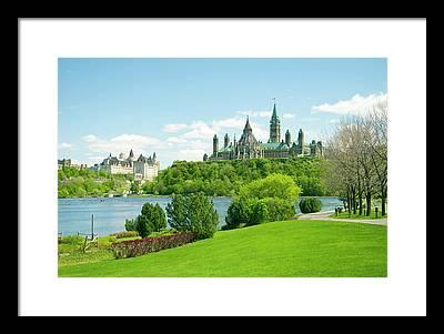 Gatineau Park Framed Prints