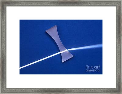 Refraction Framed Print by GIPhotoStock