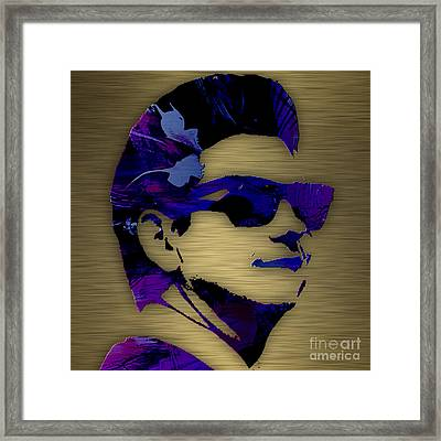 Roy Orbison Collection. Framed Print by Marvin Blaine
