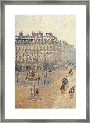 Russia, Moscow, Pushkin Museum. Detail Framed Print by Everett