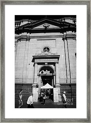 Santiago Metropolitan Cathedral Chile Framed Print by Joe Fox