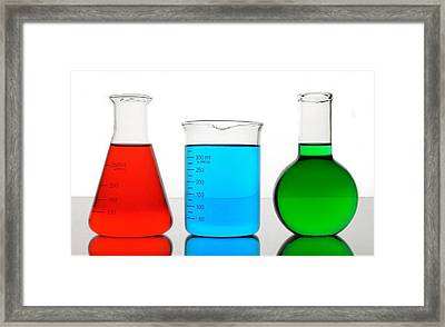 Science Of Color Framed Print by Jim Hughes