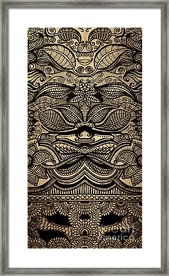 Sharpie On Cardboard Framed Print