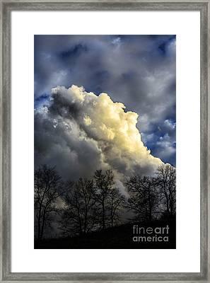 Sky Drama Framed Print