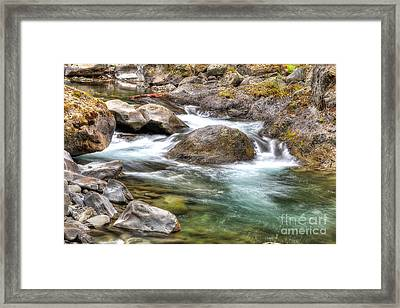 Sol Duc River Framed Print by Twenty Two North Photography
