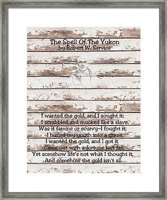 Spell Of Yukon Framed Print