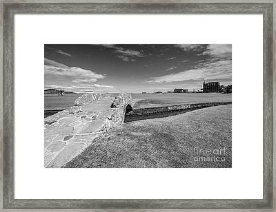 St Andrews 18 Hole Framed Print