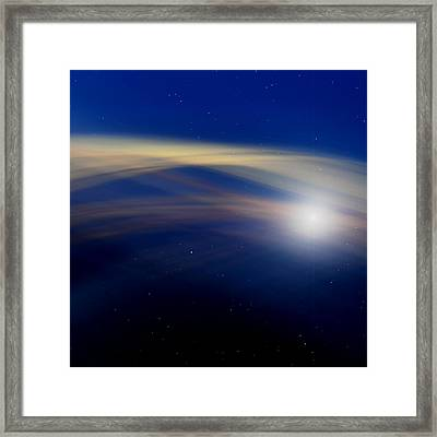Stardust Framed Print by Laura Fasulo
