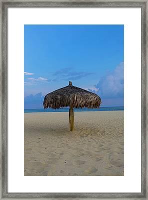 Sunset, Beach, San Jose De Cabo, Baja Framed Print