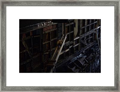 The Roundhouse Workshop Framed Print