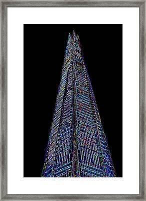 The Shard London Art Framed Print