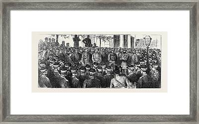 The War In The East Framed Print by English School