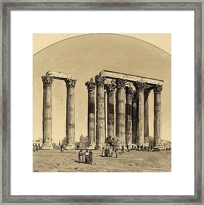 Themistocles Von Eckenbrecher German, 1842 - 1921 Framed Print