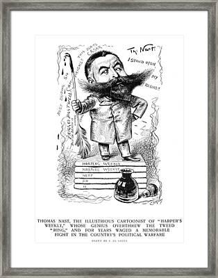 Thomas Nast (1840-1902) Framed Print