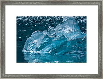 Tracy Arm Fjord Series Framed Print by Josh Whalen
