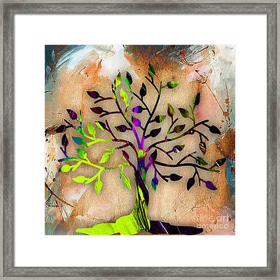 Tree Of Life Painting Framed Print by Marvin Blaine