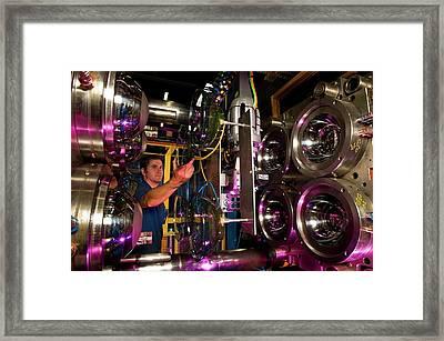 Tupperware Factory Framed Print