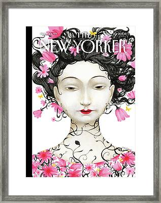 New Yorker March 10th, 2008 Framed Print