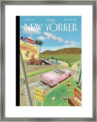 New Yorker April 20th, 2015 Framed Print