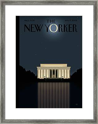New Yorker November 17th, 2008 Framed Print