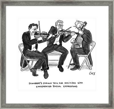 New Yorker September 21st, 2009 Framed Print by Carolita Johnson