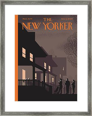 New Yorker November 2nd, 2009 Framed Print