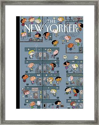 New Yorker March 2nd, 2009 Framed Print