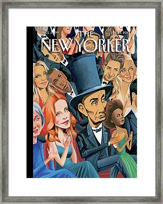 New Yorker February 25th, 2013 Framed Print