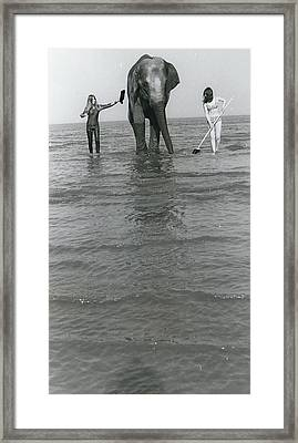 President Richard Nixon Framed Print by Retro Images Archive