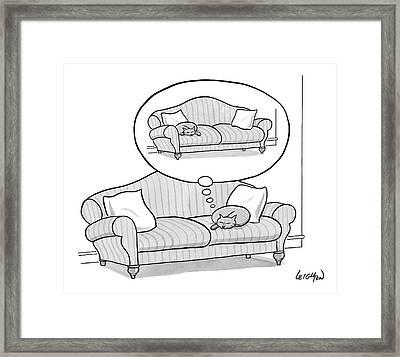 New Yorker November 6th, 2006 Framed Print by Robert Leighton