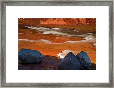 Usa, Arizona, Sedona Framed Print by Jaynes Gallery
