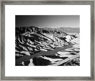 Usa, California, Death Valley National Framed Print by Adam Jones