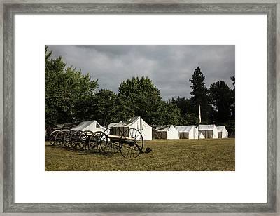 Usa, Oregon, Brooks, Willamette Mission Framed Print