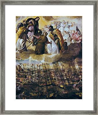 Veronese, Paolo Caliari, Called Paolo Framed Print by Everett