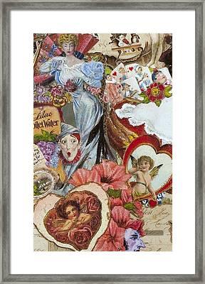 Victorian Romance Framed Print by Jonell Restivo