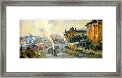 Vladivostok Vintage Prints Framed Print by Jake Hartz