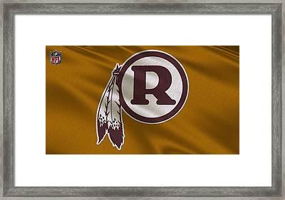 Washington Redskins Uniform Framed Print