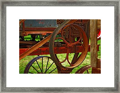 Framed Print featuring the photograph Wheels Of Time by Rowana Ray