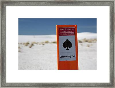 White Sands National Monument Framed Print by Jim West