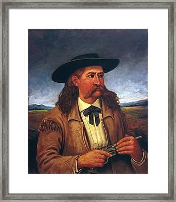 Wild Bill Hickok (1837-1876) Framed Print by Granger