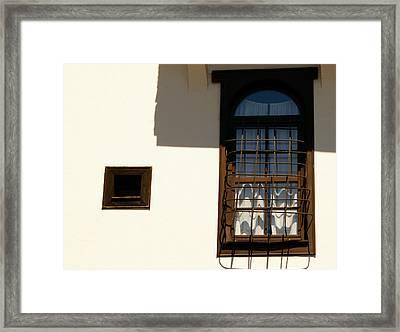 Windows Detail Framed Print