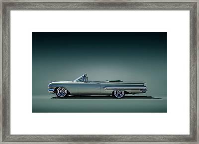 60 Impala Convertible Framed Print