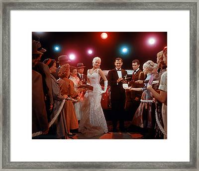 Jayne Mansfield Framed Print by Silver Screen