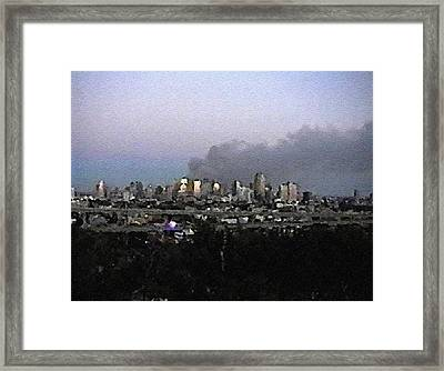 #58 Sands Of Time Framed Print
