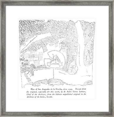 St Framed Print by Granger