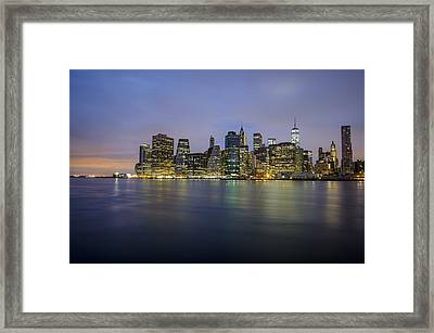 600am Framed Print by Johnny Lam